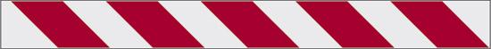 Rifrangente (fasce bianco rosse)