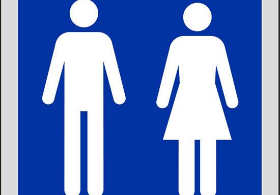 (toilette uomini e donne)