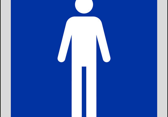 (toilette uomini)