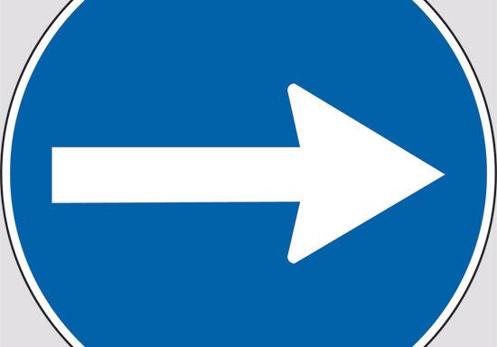 (direzione obbligatoria)
