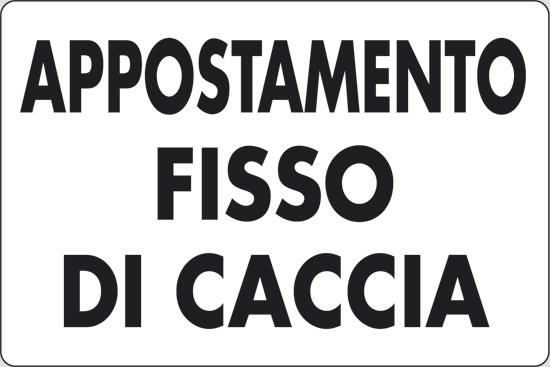 APPOSTAMENTO FISSO DI CACCIA