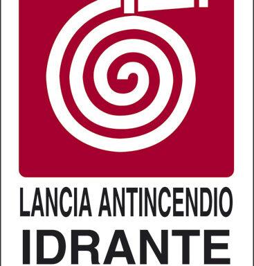 LANCIA ANTINCENDIO IDRANTE N