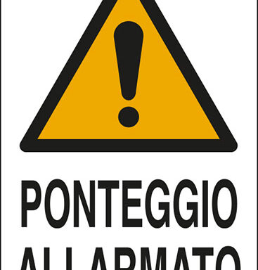 PONTEGGIO ALLARMATO