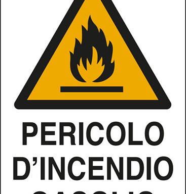 PERICOLO D'INCENDIO GASOLIO GASOLIO
