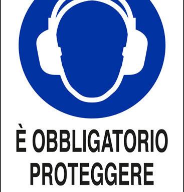 E' OBBLIGATORIO PROTEGGERE L'UDITO