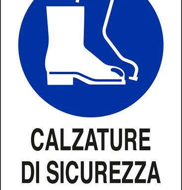 CALZATURE DI SICUREZZA OBBLIGATORIE