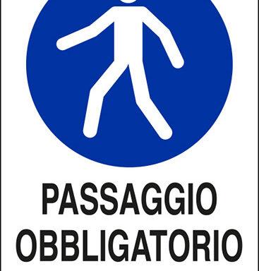 PASSAGGIO OBBLIGATORIO PER I PEDONI