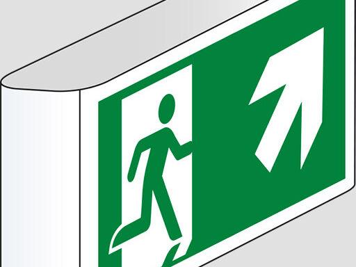 (uscita di emergenza scala) a bandiera