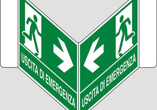 """USCITA DI EMERGENZA a """"V"""""""