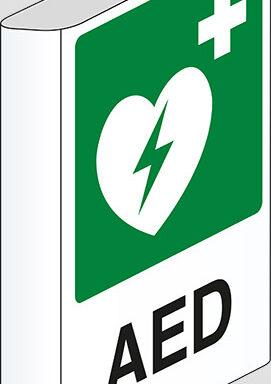 AED a bandiera