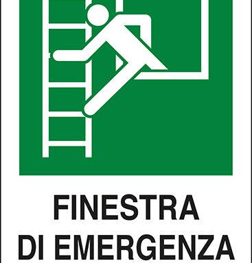 FINESTRA DI EMERGENZA CON SCALA