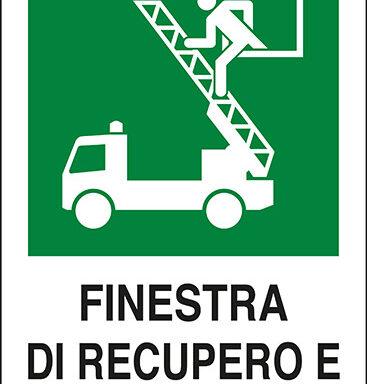 FINESTRA DI RECUPERO E SALVATAGGIO