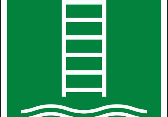(scaletta per l'imbarco/biscaglina – embarkation ladder)