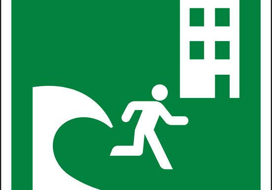 (edificio di evacuazione tsunami – tsunami evacuation building)