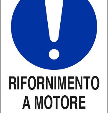 RIFORNIMENTO A MOTORE SPENTO