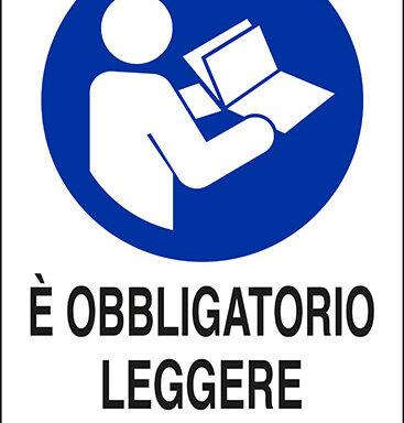 E' OBBLIGATORIO LEGGERE LE ISTRUZIONI