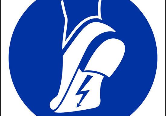 (indossare calzature anti-statiche – wear anti-static footwear)