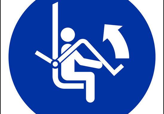 (aprire barra di sicurezza della seggiovia – open safety bar of chairlift)
