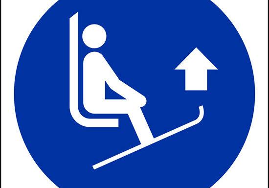 (sollevare le estremita' degli sci – lift ski tips)