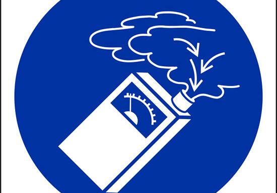 (usare rivelatori di gas – use gas detector)