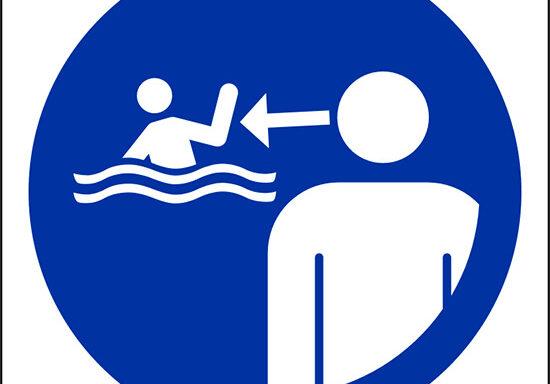 (tenere i bambini sotto sorveglianza nell' ambiente acquatico – keep children under supervision in the aquatic environment)