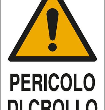 PERICOLO DI CROLLO