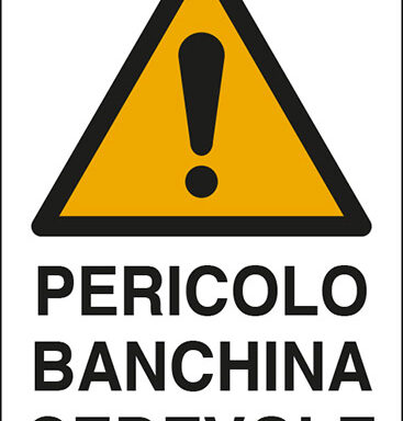 PERICOLO BANCHINA CEDEVOLE