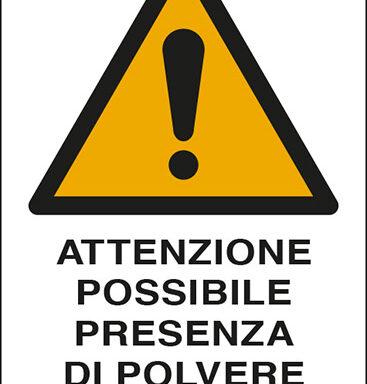 ATTENZIONE POSSIBILE PRESENZA DI POLVERE DI AMIANTO
