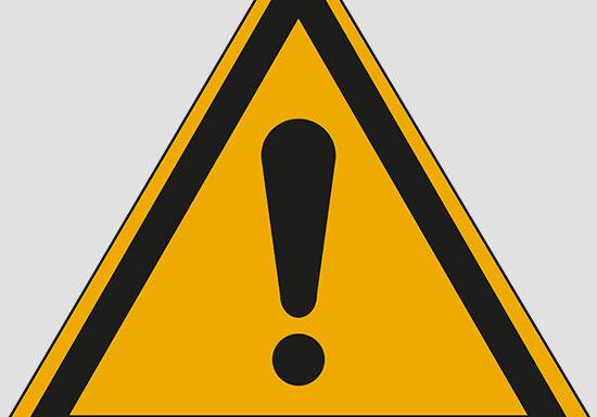 (general warning sign)