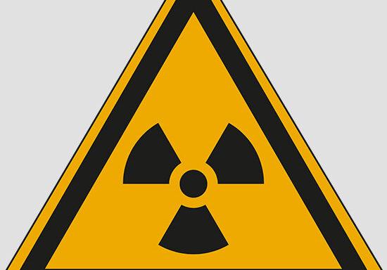 (warning: radioactive material or ionizing radiation)