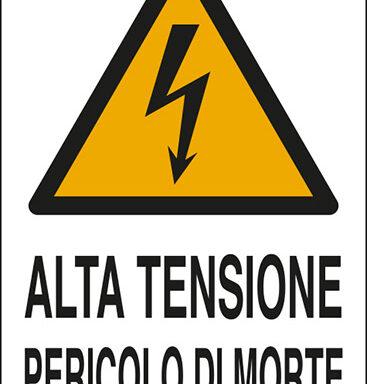 ALTA TENSIONE PERICOLO DI MORTE
