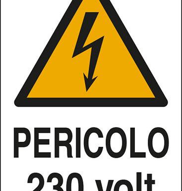 PERICOLO 230 volt
