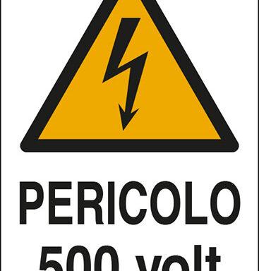 PERICOLO 500 volt