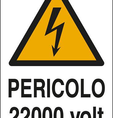 PERICOLO 22000 volt