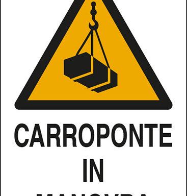 CARROPONTE IN MANOVRA