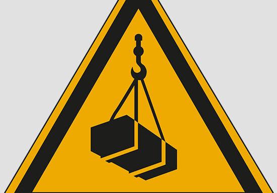 (warning: overhead load)