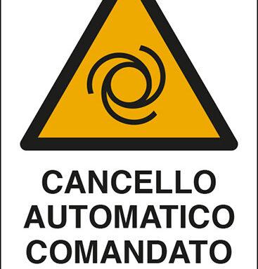 CANCELLO AUTOMATICO COMANDATO A DISTANZA