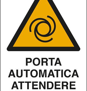 PORTA AUTOMATICA ATTENDERE APERTURA