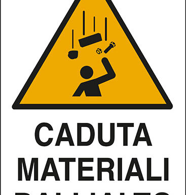 CADUTA MATERIALI DALL'ALTO