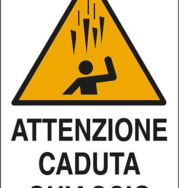 ATTENZIONE CADUTA GHIACCIO